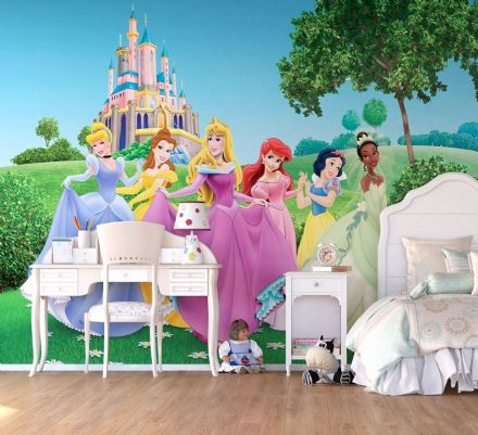 Disney Premium wall mural Princesses Castle